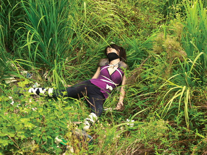 Cao Fei, Game over (COSPLAYERS series), 2004, Via Art Tattler