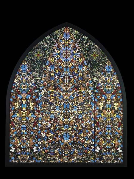 Damien Hirst-The Importance of Elsewhere-The Kingdom of Heaven-2006