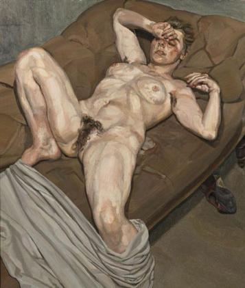 Lucien Freud, Portrait of a Rose, 1978-79, Via The Independent