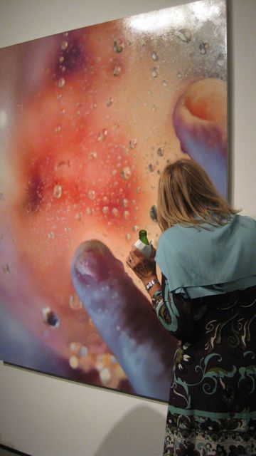 Marilyn Minter, Bubbleface, 2009