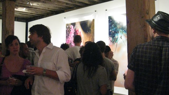 Opening Marilyn Minter - Grink Pink Caviar at Salon 94 Freemans