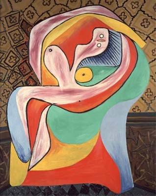 Pablo Picasso, Le Repos, 1932, Via Volkskrant Blog