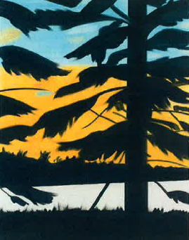 Alex Katz-Sunset 3-2008