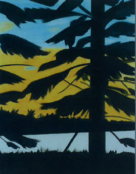 Sunset 1-Alex Katz-2008
