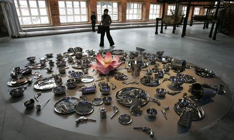 Installation by Subodh Gupta at A Certain State of the World?