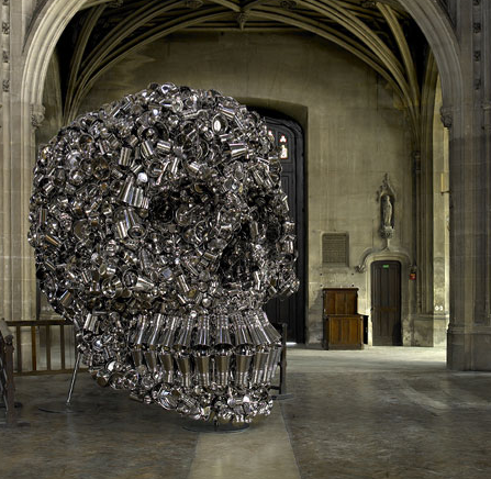 Subodh Gupta, Very Hungry God, 2006, Via The Garage Center for Contemporary Culture