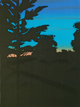 Twilight I-Alex Katz-1973