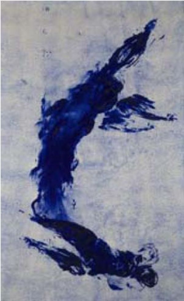 Yves KLein, Anthropologie de l'Epoque Blue (ANT.78), 1960, Via Art Investment
