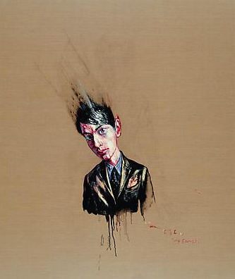 "Zeng Fanzhi, ""Portrait 07-8-4"", 2007, Via Acquavella Galleries"