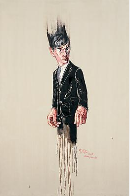"Zeng Fanzhi, ""Portrait 08-1-5"", 2008, Via Acquavella Galleries"