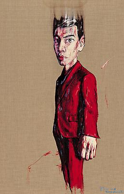 "Zeng Fanzhi, ""Portrait 08-4-1"", 2008, Via Acquavella Galleries"