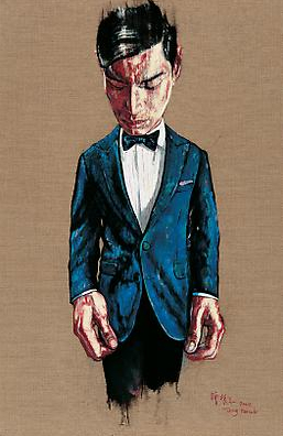 "Zeng Fanzhi, ""Portrait 08-7-2"", 2008, Via Acquavella Galleries"