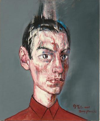 "Zeng Fanzhi, ""Portrait 08-7-3"", 2008, Via Acquavella Galleries"