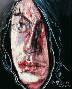 "Zeng Fanzhi, ""Portrait 08-7-7"", 2008, Via Acquavella Galleries"