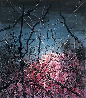 "Zeng Fanzhi, ""Untitled 08-3-2"", 2008, VIa Acquavella Galleries"