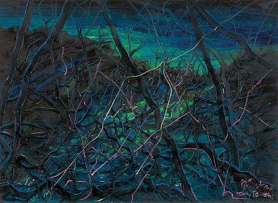 "Zeng Fanzhi, ""Untitled 08-4-1"", 2008, Via Acquavella Galleries"