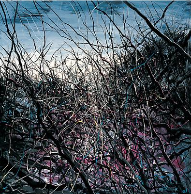 "Zeng Fanzhi, ""Untitled 09-3-1"", 2009, Via Acquavella Galleries"