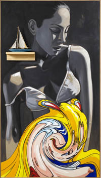David Salle-Sailor-2007