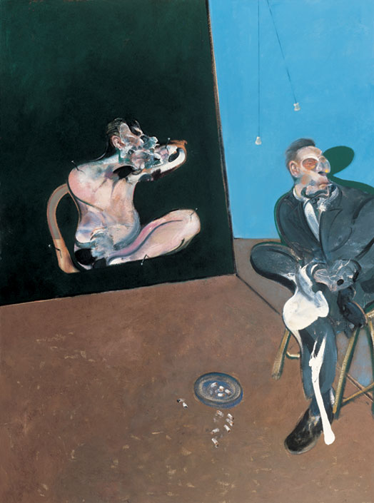 "Francis Bacon, ""Two Studies for a Portrait of George Dyer,"" 1968 (Sara Hildén Foundation/Sara Hildén Art Museum)"