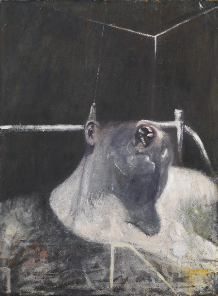 "Francis Bacon, ""Head I,"" 1947-1948 (The Metropolitan Museum of Art)"