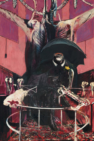"Francis Bacon, ""Painting,"" 1946 (The Museum of Modern Art, New York)"