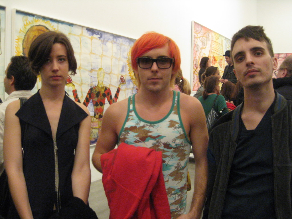 Krystyna, Nathan Tucker and Joshua Reed. Photo by Art Observed.