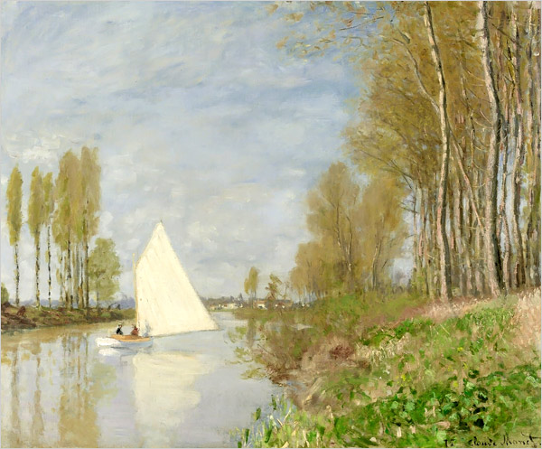 monet-sailboat-on-the-river-seine-argenteuil