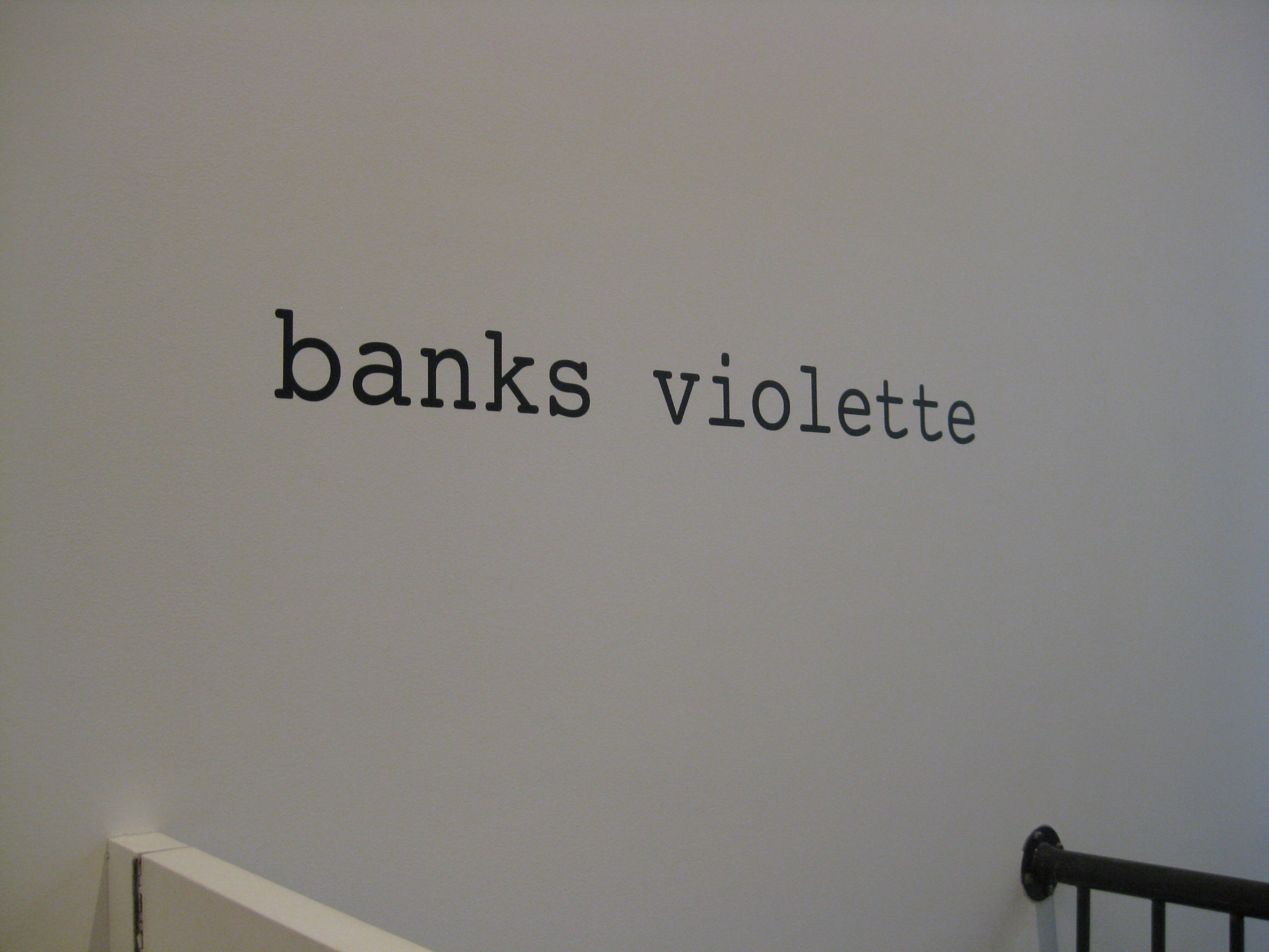 Trend Opening Banks Violette us ucNot Yet Titled ud at Team Gallery Photo by Art Observed