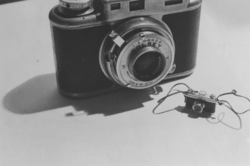 Laurie Simmons-Big Camera Small Camera-1977