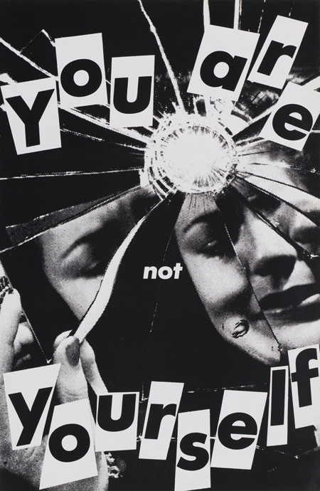 Barbara Kruger-Untitled (You are not yourself)-1981