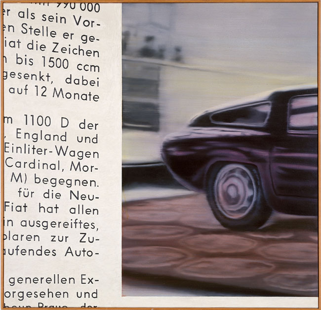Gerhard Richter, Alfa Romeo