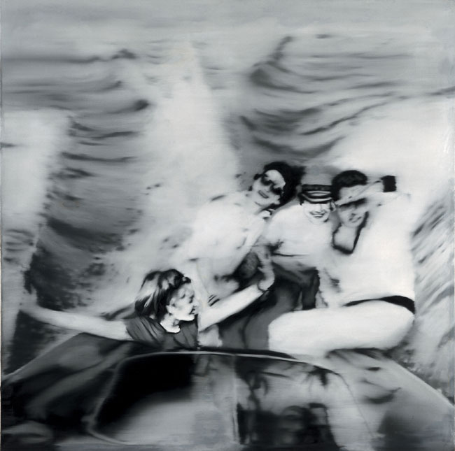 Gerhard Richter, Motorboat 1