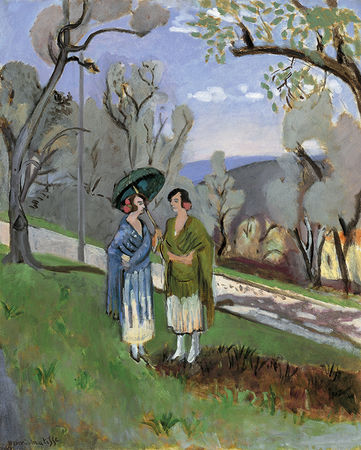 Henri Matisse, Conversation under the Olive Trees