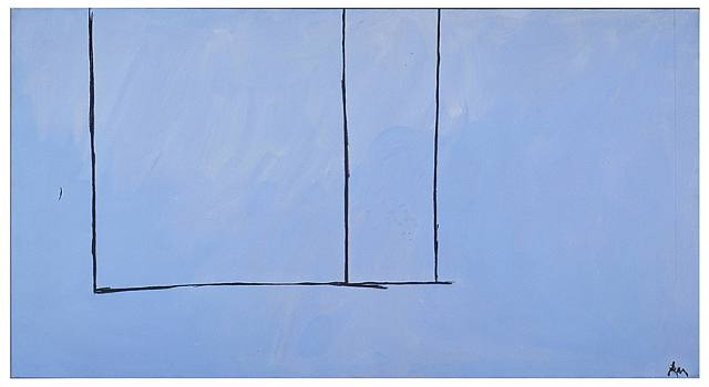 Robert Motherwell, Open No. 151
