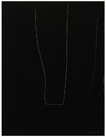 Robert Motherwell, Alberti Suite No. 8 (Black)