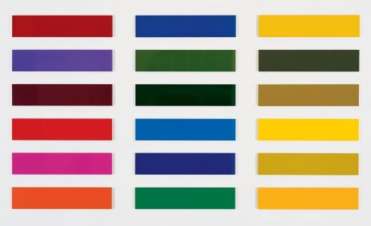 Gerhard Richter, Achtzehn Farbtafeln