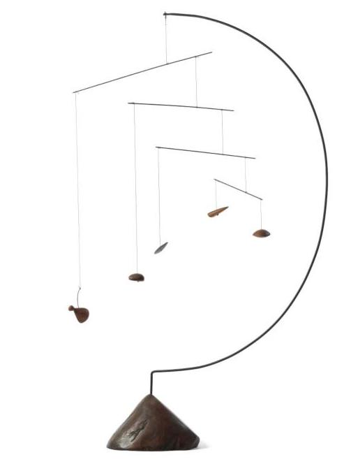 Alexander Calder - A CINQ MORCEAUX DE BOIS