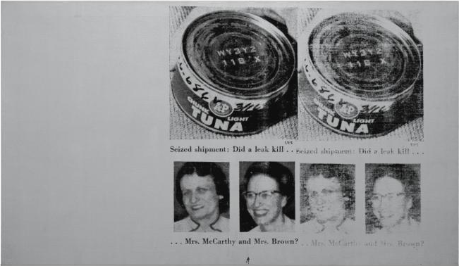 Andy Warhol - MRS. MCCARTHY AND MRS. BROWN (TUNAFISH DISASTER)