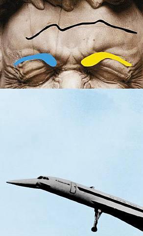Baldessari,Airplane (Concorde) AtGretaMeert.