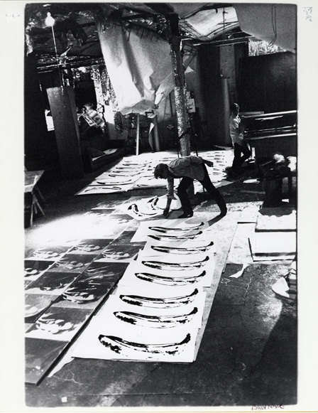 Billy Name Andy Warhol at the Silver Factory 1966–67 Courtesy of the Andy Warhol Museum, Pittsburgh