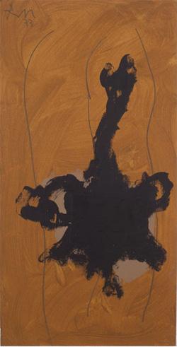 Robert Motherwell, Creature, Open, Bernard Jacobson Gallery