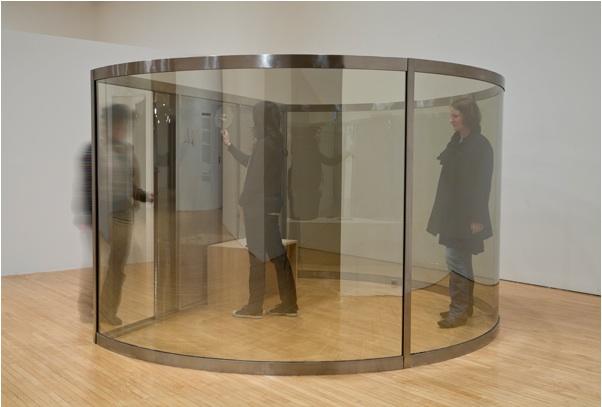 Dan Graham - Whitney Museum - Girl's Makeup Room