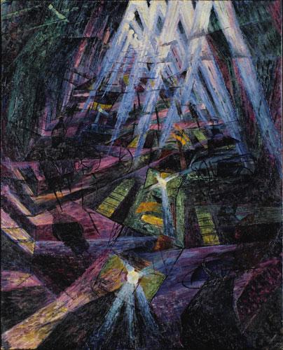 Umberto Boccioni-Forces of the Street-1911
