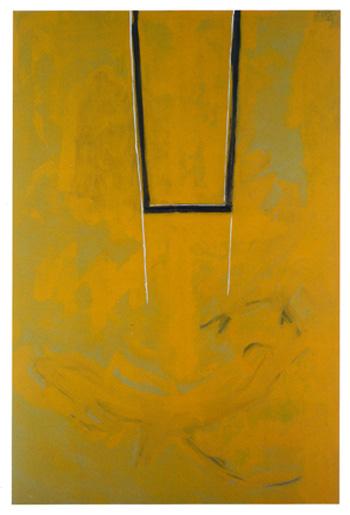 Robert Motherwell, Great Wall of China #4, Open, Bernard Jacobson Gallery