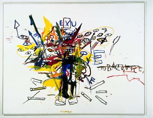 Jean-Michel Basquiat - Exu
