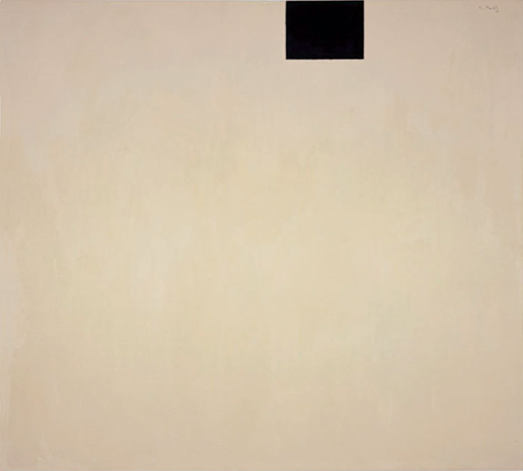 Robert Motherwell, Open o. 161: In Beige and Black