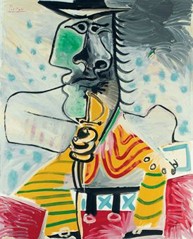 Pablo Picasso - Homme a l'epee
