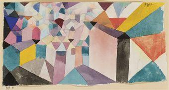 Paul Klee - Einblick in eine Stadt