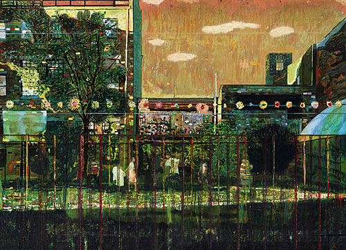 Peter Doig - Night Playground