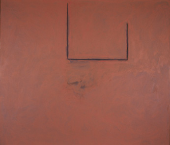 Robert Motherwell, Premonition Open with Flesh Over Gray, Bernard Jacobson Gallery